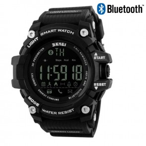 Часы 1227 з bluetooth Black Skmei