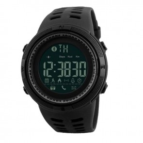 Часы 1250 з bluetooth Black Skmei