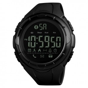 Годинник 1326 з bluetooth+ Black Skmei