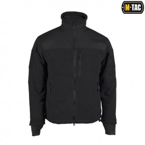 Куртка флисовая  Alpha Microfleece Jacket Black M-TAC