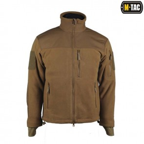 Куртка флисовая Alpha Microfleece Jacket Coyote M-TAC