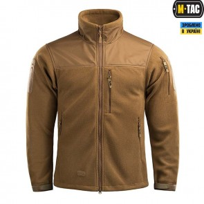 Куртка флисовая Alpha Microfleece Jacket Gen.2 Coyote Brown M-TAC