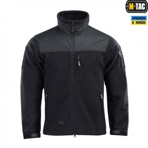 Куртка флисовая Alpha Microfleece Jacket Gen.2 Black M-TAC
