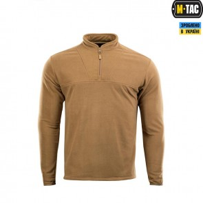 Кофта флисовая Delta Fleece Jacket Coyote Brown M-TAC