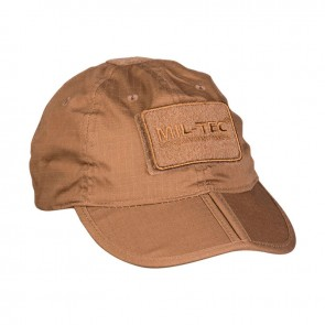 Бейсболка тактична Foldable Cap Dark Coyote R/S Mil-tec