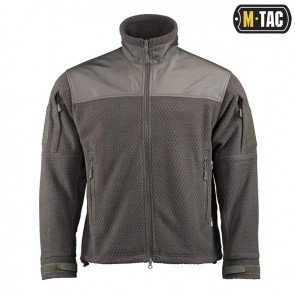 Куртка флисовая Hexagon Alpha Microfleece Jacket Olive M-TAC