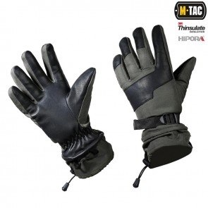 Перчатки зимние Polar Tactical Thinsulate Olive M-TAC