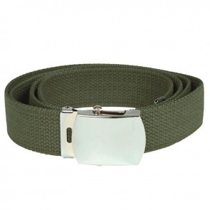 Ремінь брючний US Cotton Web Belt Olive Mil-Tec