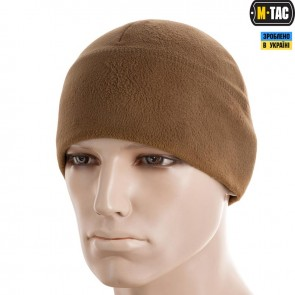 Шапка флисовая Watch Cap Elite Windblock 295  Coyote Brown M-TAC