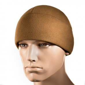 Шапка флисовая Watch Cap with SLIMTEX 260G Coyote Brown M-TAC