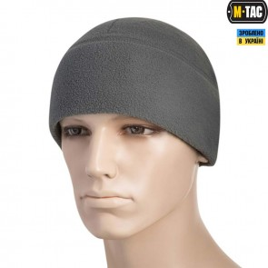 Шапка флисовая Watch Cap with SLIMTEX 260G Grey  M-TAC