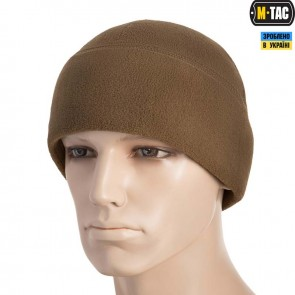 Шапка флисовая Watch Cap with SLIMTEX 330G Coyote M-TAC