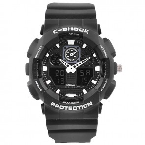 Годинник GA-100 Black-White Box C-SHOCK