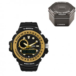Часы GWN-1000GB Black-Gold Box C-SHOCK