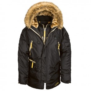 Куртка N3B Inclement Black Alpha Industries