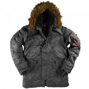 Куртка N3B Parka Gun Metal Alpha Industries