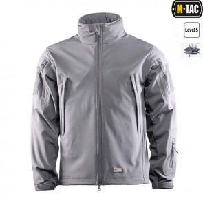 Куртка Soft Shell gray M-TAC