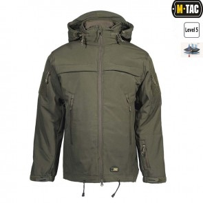 Куртка Soft Shell POLICE Olive M-TAC