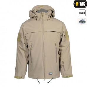 Куртка Soft Shell POLICE Tan M-TAC