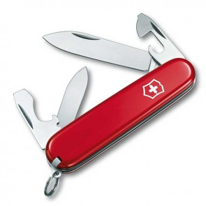 Нож Swiss Army Recruit красный Victorinox