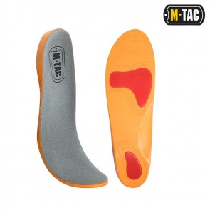 Стельки UNIVERSAL PU Medium GREY/Orange M-TAC