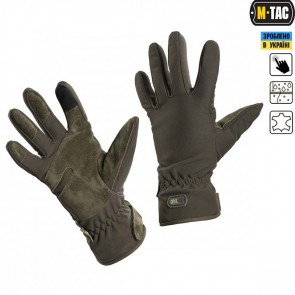 Перчатки Winter Tactical Waterproof Olive M-TAC