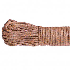 Паракорд 550 Type III Grey Orange Snake Paracord