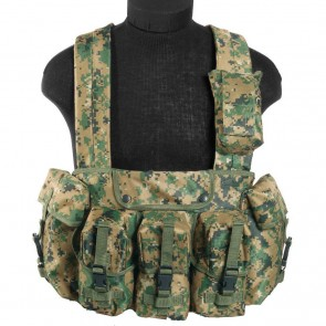 Разгрузочная система Chest Rig Digital Woodland Mil-Tec