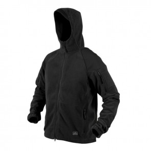 Куртка флисовая CUMULUS Heavy Fleece черная HELIKON