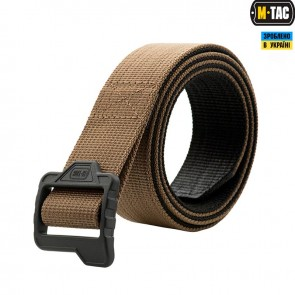 Ремень Double Duty Tactical Belt Coyote/Black M-TAC