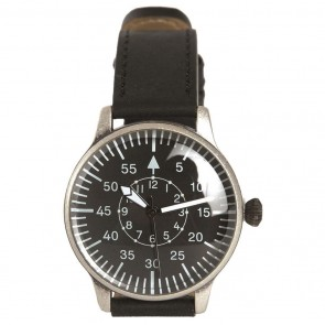 Часы Pilot Watch Retro Look черные Mil-Tec