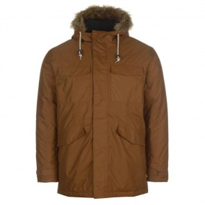 Куртка Siberian Parka Jacket Mens Brown Tan Gelert