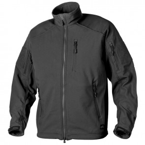Куртка Soft Shell DELTA TACTICAL черная HELIKON