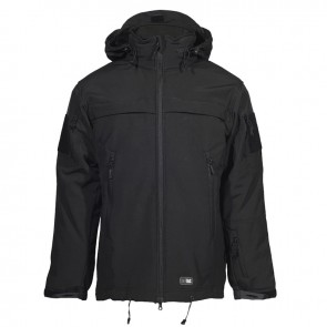 Куртка Soft Shell POLICE Black M-TAC