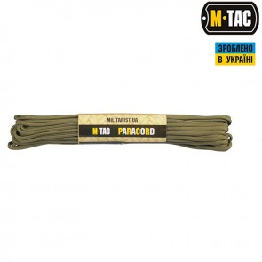 Паракорд Survival Army GREEN 15м M-TAC