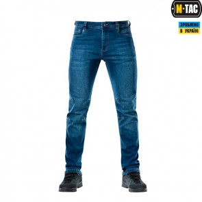 Брюки джинсы Tactical Gen.I Slim Fit Indigo Blue M-Tac