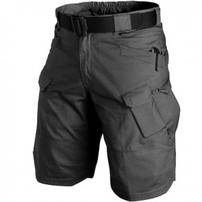 Шорты Urban Tactical 11 PolyCotton R/S черные HELIKON
