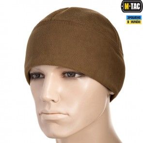 Шапка флисовая Watch Cap Elite флис/сетка Windblock 260G Coyote Brown M-TAC